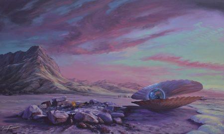 Original surreal oil painting